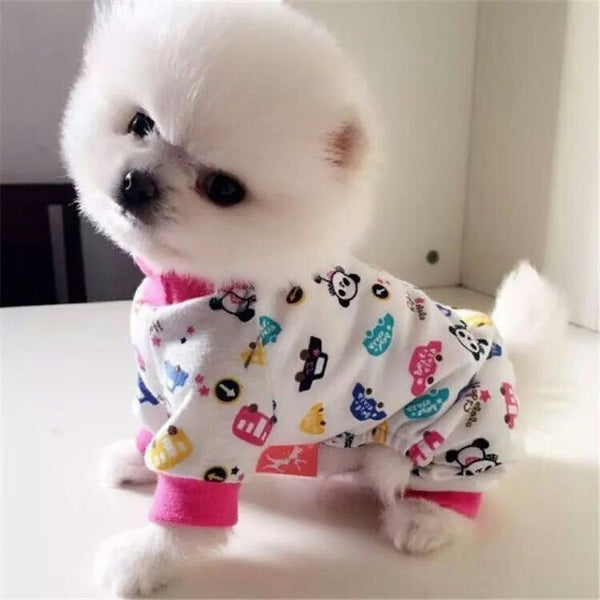 Cutie Pie Pajamas - Haute Dog Shop