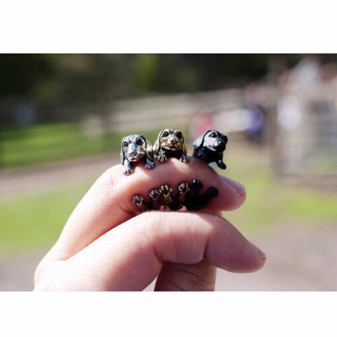 Dachshund Puppy Ring - Haute Dog Shop