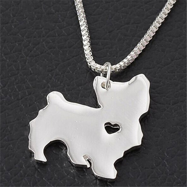Yorkshire Terrier Love Necklace - Haute Dog Shop