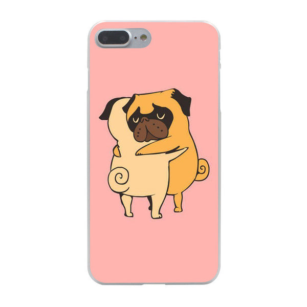 Pug iPhone Case - iPhone 4, 5, 6 & 7
