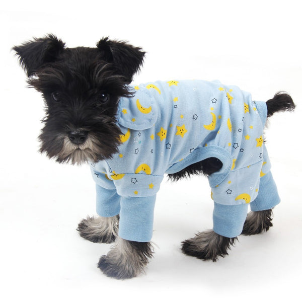 Nighty Night Pajamas - Blue - Haute Dog Shop