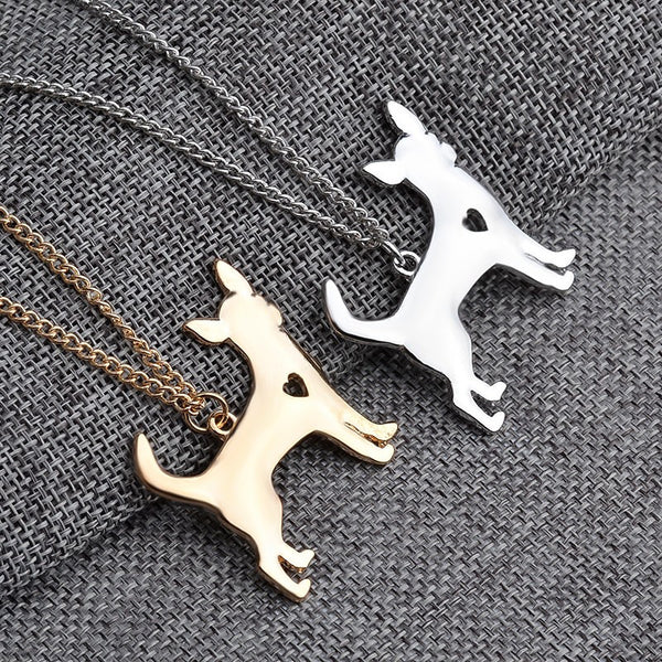 Chihuahua Love Necklace - Haute Dog Shop