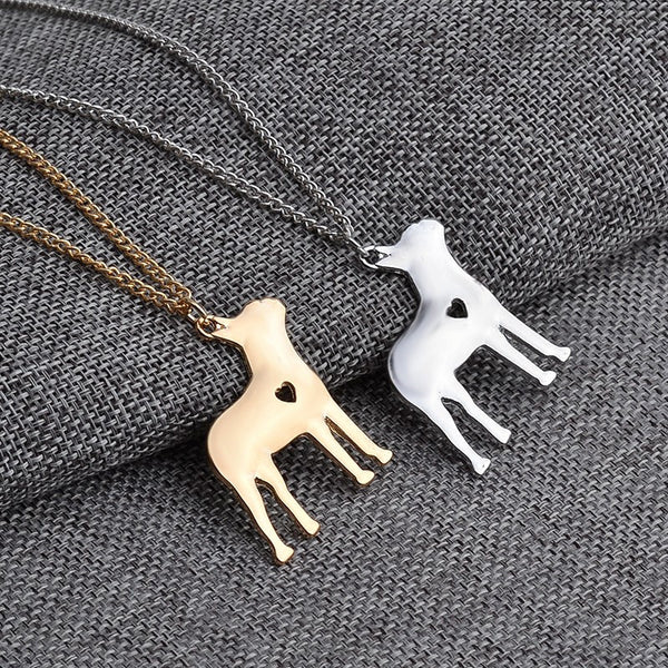 French Bulldog Love Necklace - Haute Dog Shop