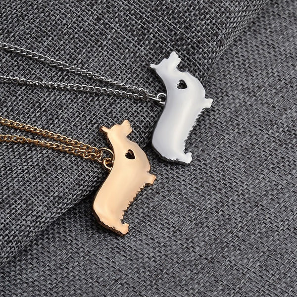 Corgi Love Necklace - Haute Dog Shop