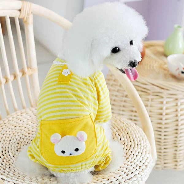 Mr.Bear Pajamas - Yellow - Haute Dog Shop