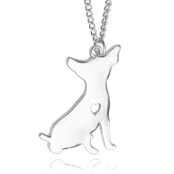 Chihuahua Love Necklace 2 - Haute Dog Shop