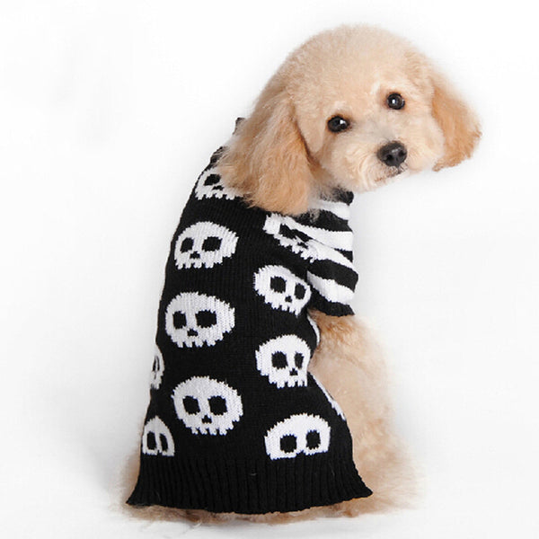 Butch The Rebel Skull Sweater - Haute Dog Shop