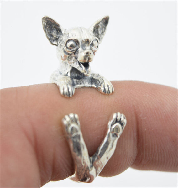 Cute Chihuahua Ring - Haute Dog Shop