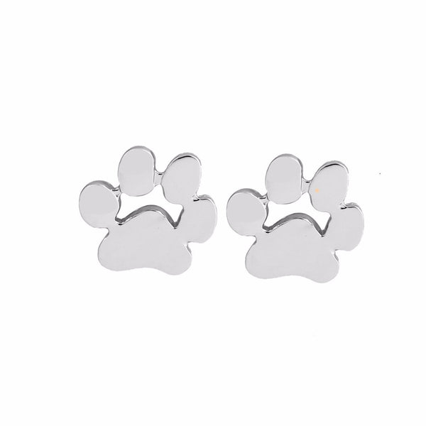 A Piece Of My Paw Earring - Haute Dog Shop