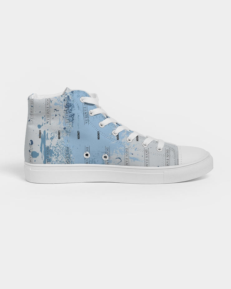 DON FAMILIA LIFESTYLE Women's Hightop Canvas Shoe