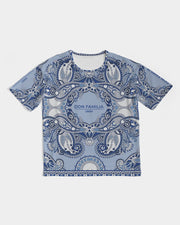DON FAMILIA BLUE LONDON Men's Premium Heavyweight Tee