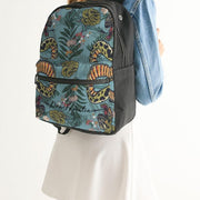 DON FAMILIA SNAKE LIFE Small Canvas Backpack