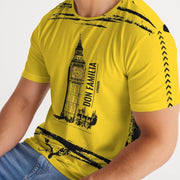 DON FAMILIA YELLOW Men's Tee