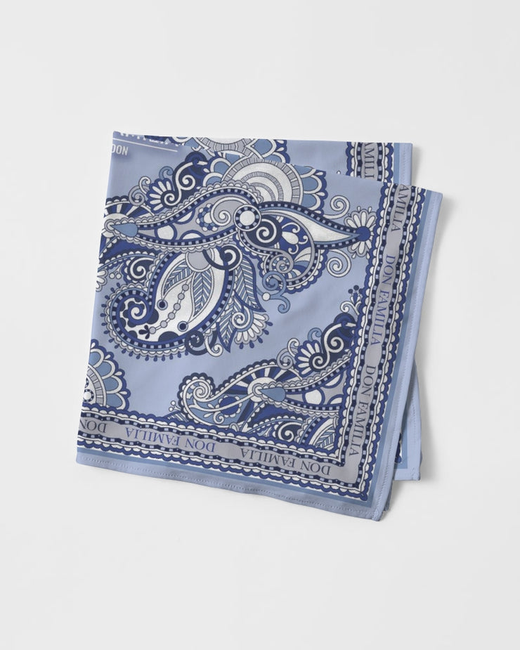 DON FAMILIA BLUE LONDON Bandana Set