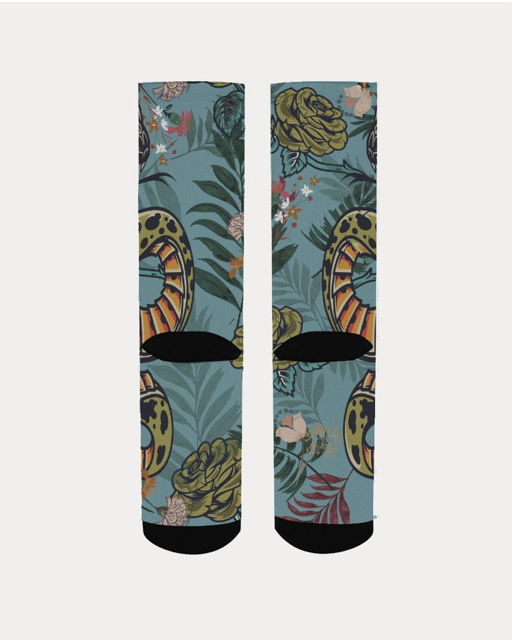 DON FAMILIA SNAKE LIFE Women's Socks