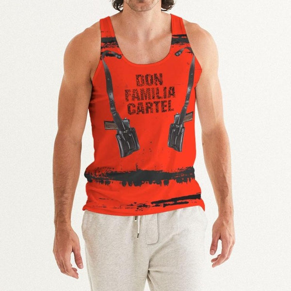 DON FAMILIA RED Men's Tank