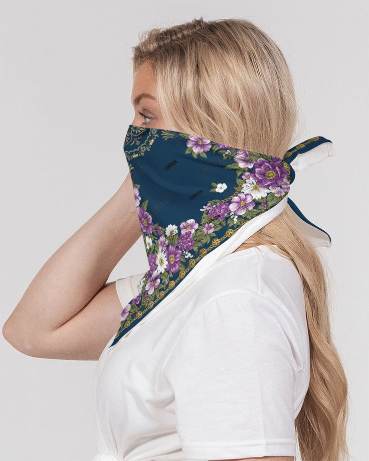 DON FAMILIA PURPLE Bandana Set