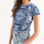 DON FAMILIA BLUE LONDON Women's Tee
