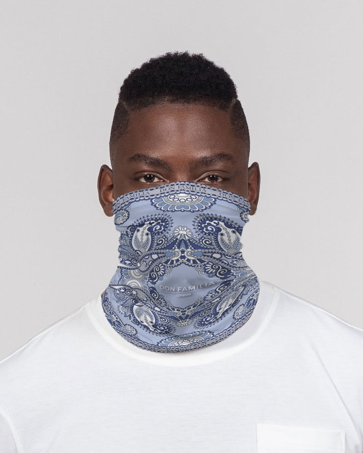 DON FAMILIA BLUE LONDON Neck Gaiter Set