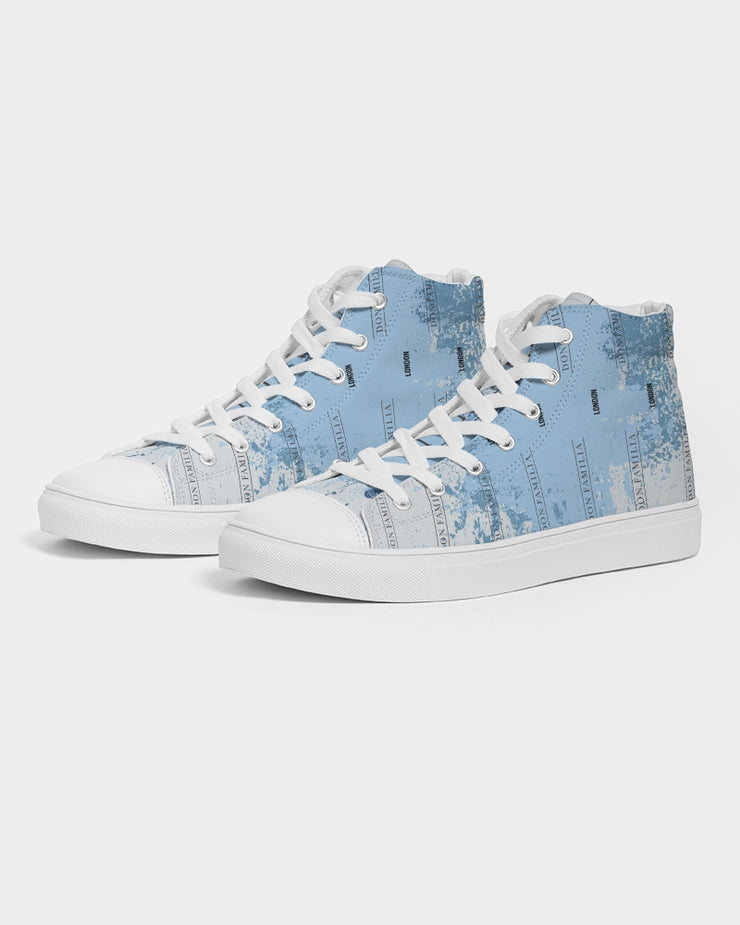 DON FAMILIA LIFESTYLE Men's Hightop Canvas Shoe