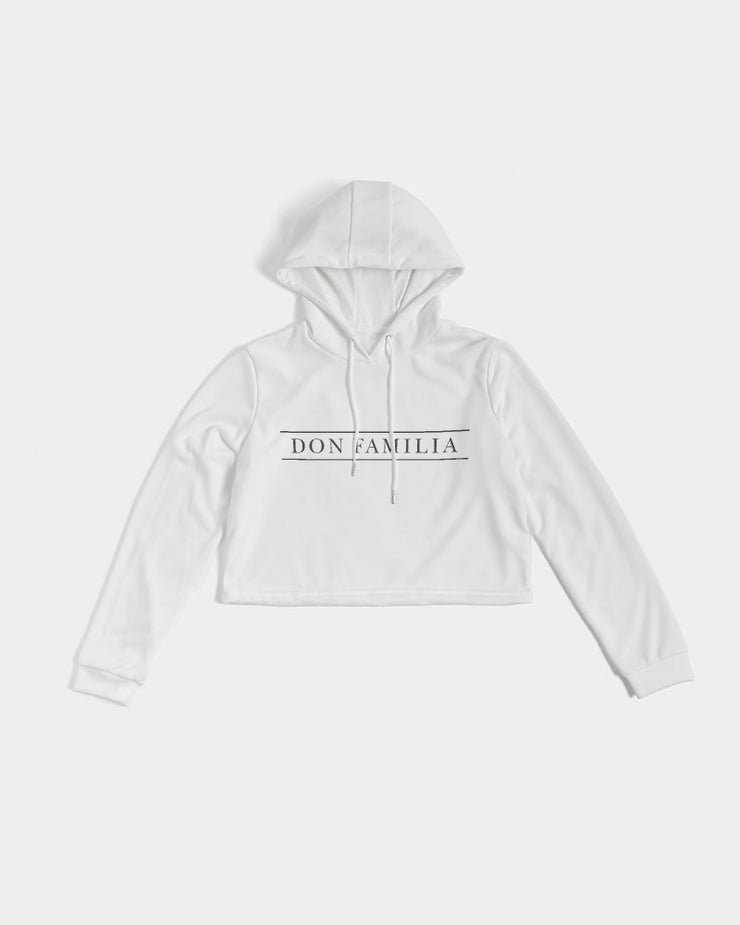 DON FAMILIA Women's Cropped Hoodie