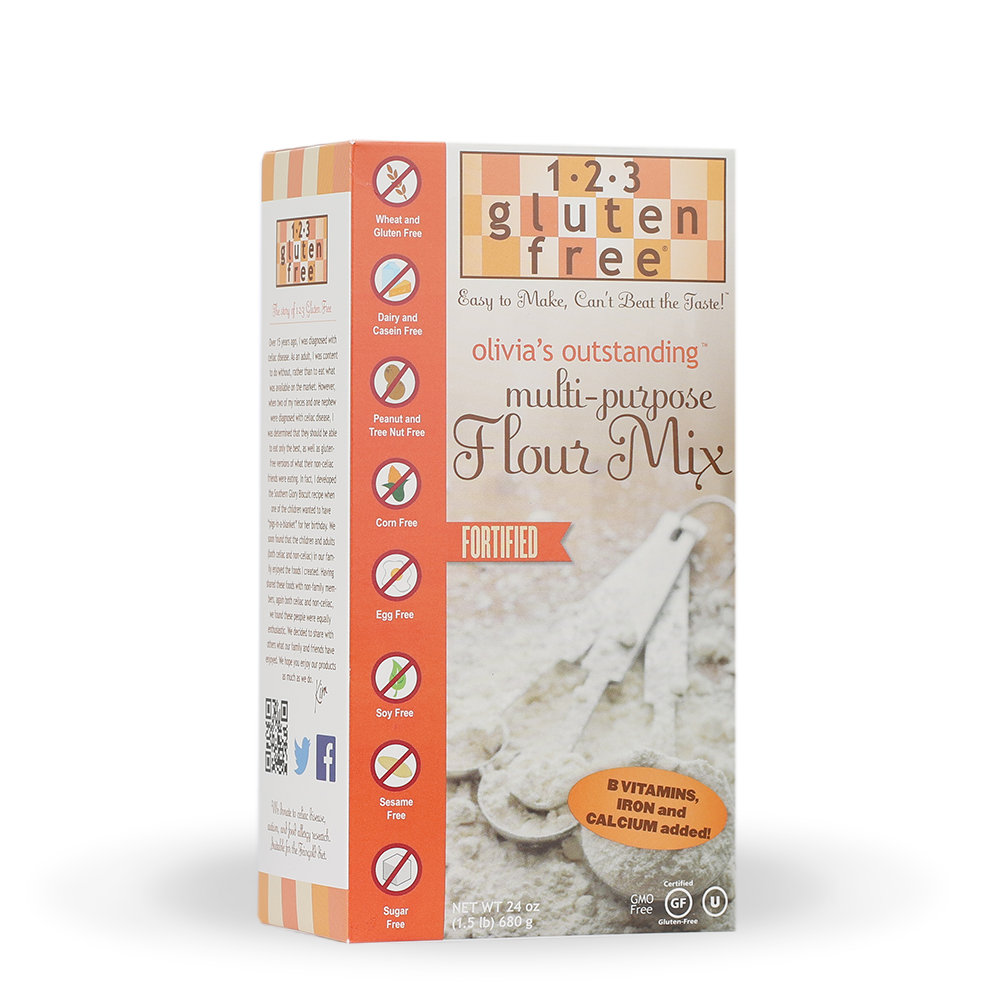 Olivia's Outstanding Multi-Purpose Fortified Gluten-Free Flour Mix