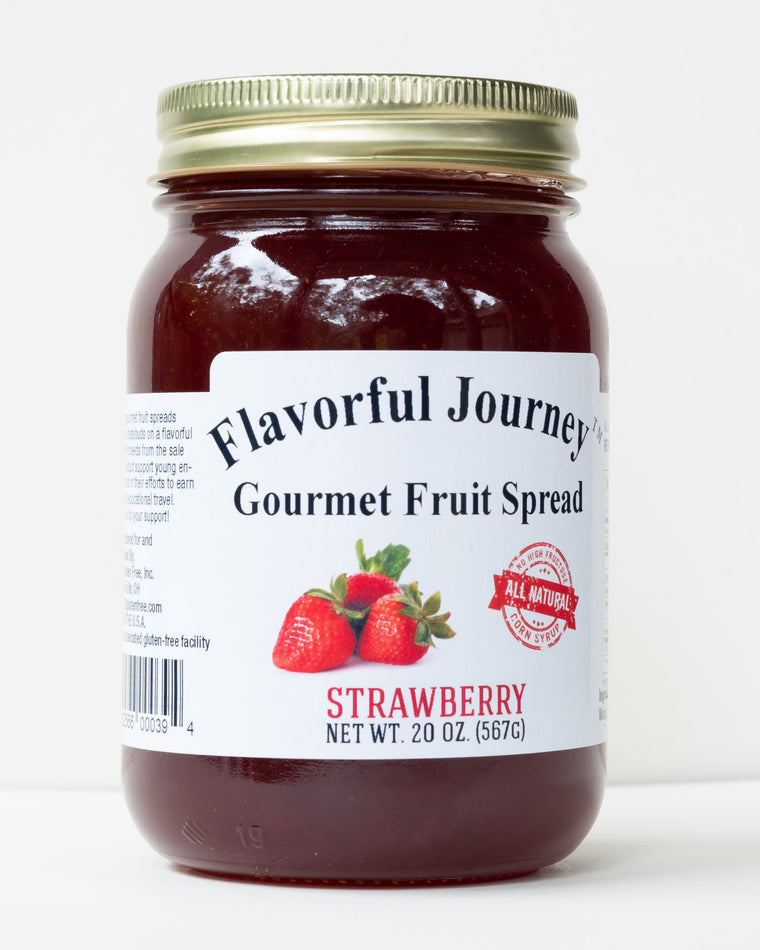 Flavorful Journey Strawberry Gourmet Fruit Spread