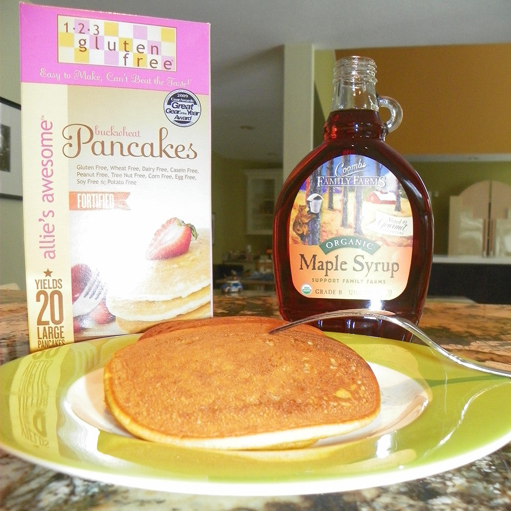Allie's Awesome Buckwheat Pancakes