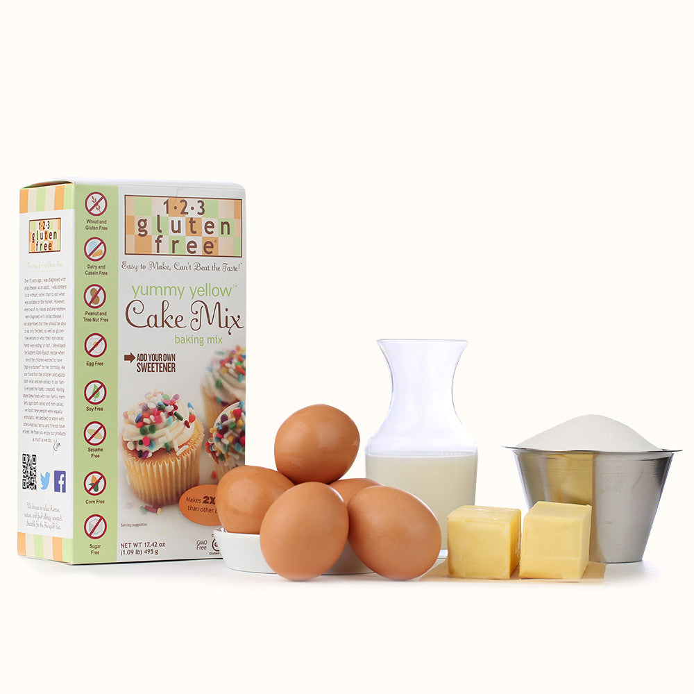 Yummy Yellow Cake Mix