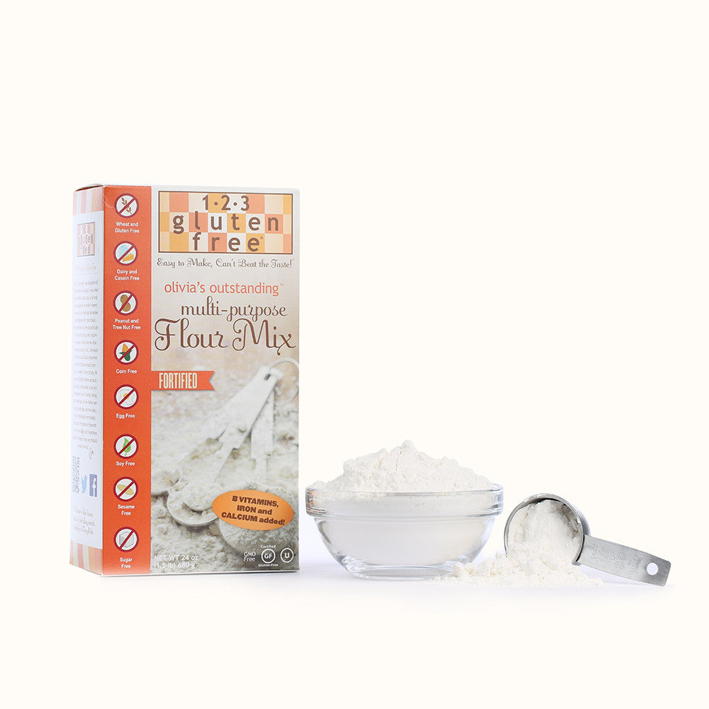 Olivia's Outstanding Multi-Purpose Fortified Flour Mix