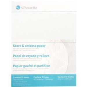 Score and Emboss Paper - Large - Silhouette Canada