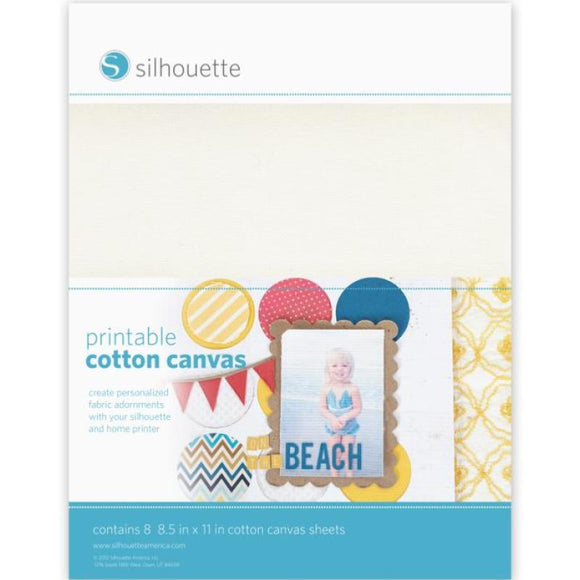 Sticker Sheets - Cotton Canvas - Silhouette Canada