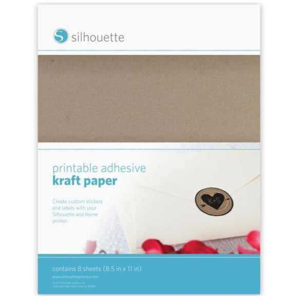 Sticker Sheets - Kraft Paper - Silhouette Canada