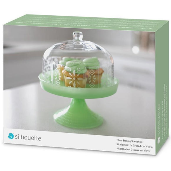 Glass Etching Starter Kit - Silhouette Canada