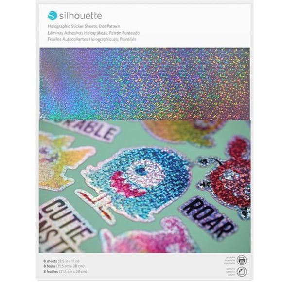 Sticker Sheets - Holographic Dots - Silhouette Canada