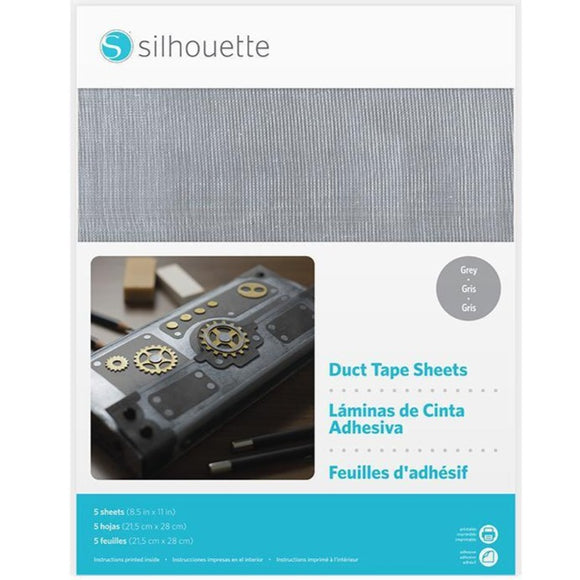 Duct Tape Sheets - Grey - Silhouette Canada