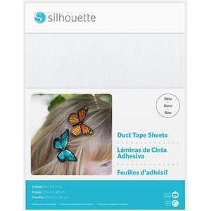 Duct Tape Sheets - White - Silhouette Canada