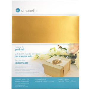 Sticker Sheets - Gold Foil - Silhouette Canada