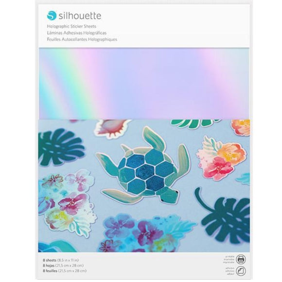 Sticker Sheets - Holographic - Silhouette Canada