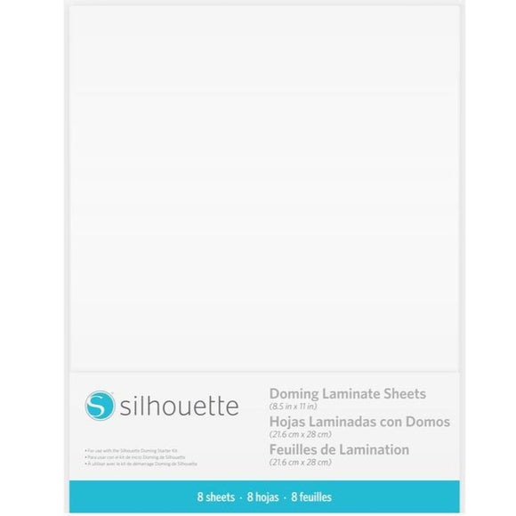 Doming Laminate Sheets - Silhouette Canada