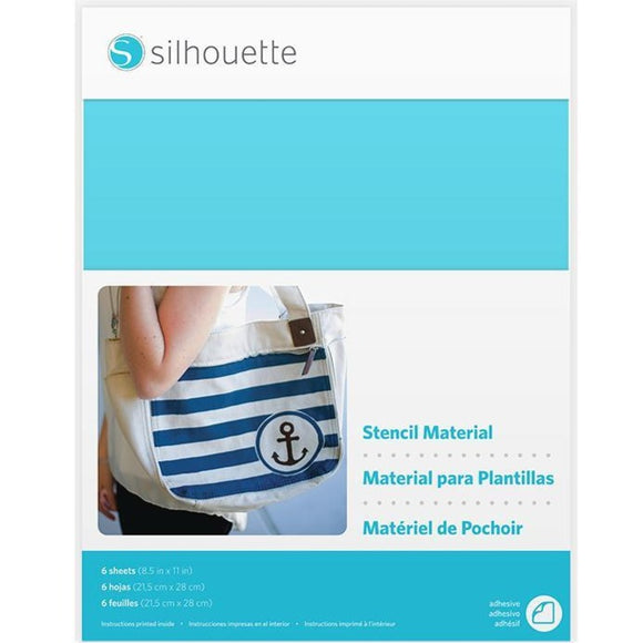Stencil Sheets - Adhesive - Silhouette Canada
