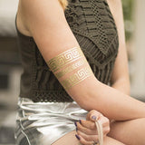 Temporary Tattoo Paper - Gold - Silhouette Canada