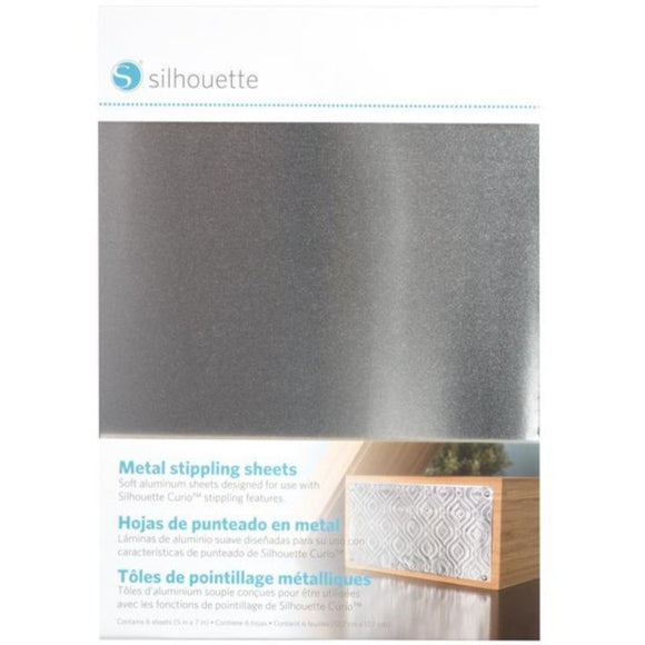 Metal Stippling Sheets - Silhouette Canada