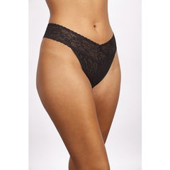 Lace Mid Rise Thong (COLORS)