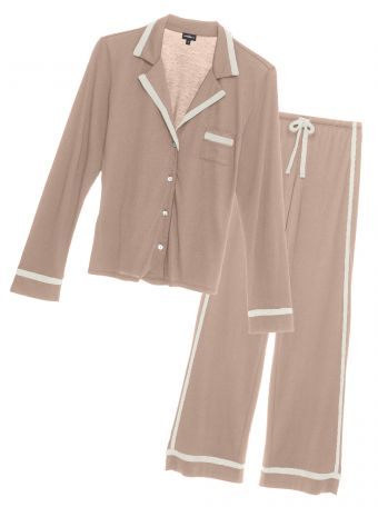Bella Long Sleeve Top & Pant Pajama Set (Colors)