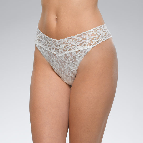 Signature Lace Original Rise Thong (COLORS)