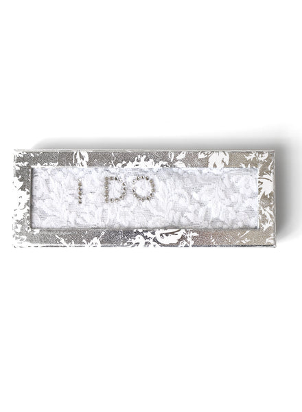 """I Do"" Original Rise Thong with Swarovski Crystals (COLORS)"