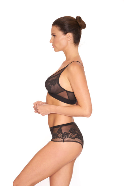 Tootsie Roll Triangular Bra