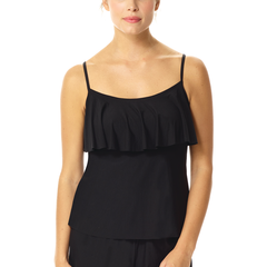 Butter Ruffled Cami- ONE LEFT