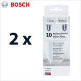 Genuine Bosch Cleaning Tablets - 311769 / 311560 / 310575 / 310967 - Thefridgefiltershop